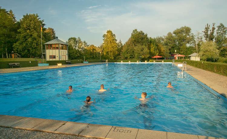 Freibad Teisendorf Schwimmbad