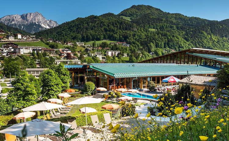 Watzmann Therme Berchtesgaden Sommer Aussen