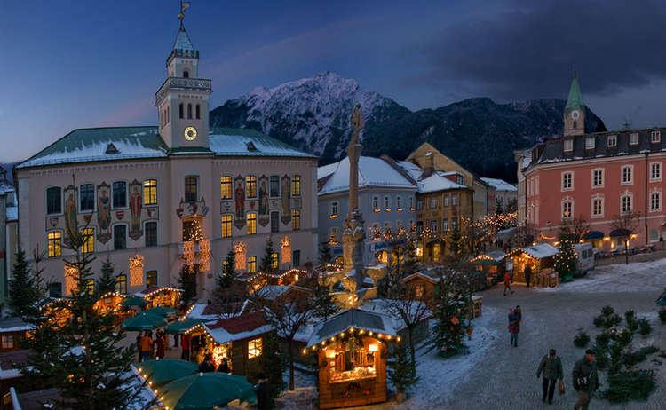 Alpenstadt-Advent: Christkindlmarkt in Bad Reichenhall