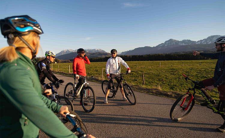 Dahoam Radeln:  Geführte Fahrradtouren im Berchtesgadener Land, Chiemgau und Rupertiwinkel