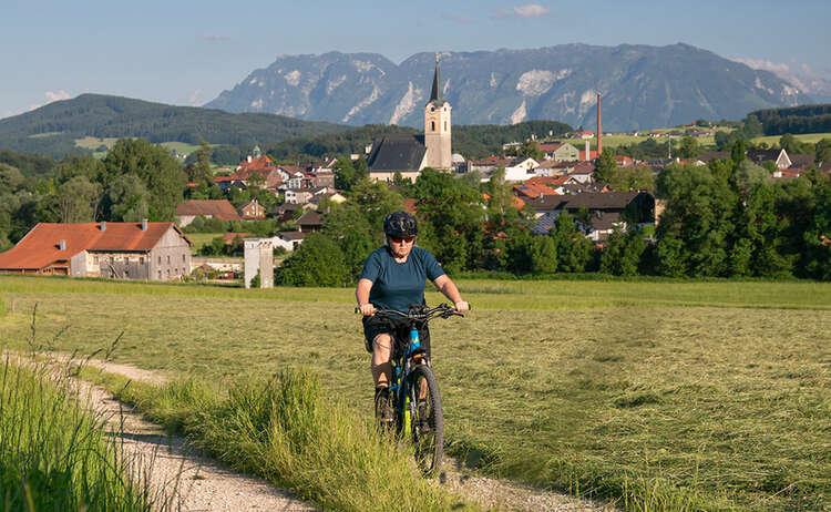 E Bike Teisendorf Schoedling Untersberg