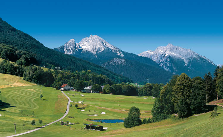Golfplatz Berchtesgaden Watzmann Obersalzberg
