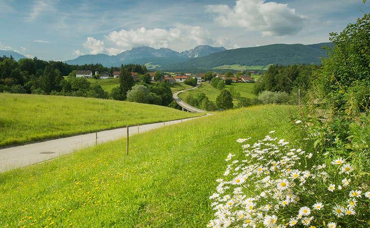 Unterweg in Teisendorf