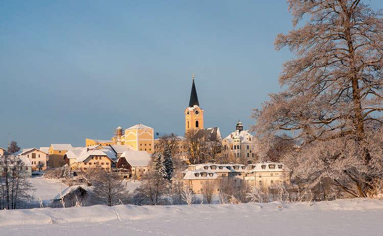 Blick von Osten auf Teisendorf