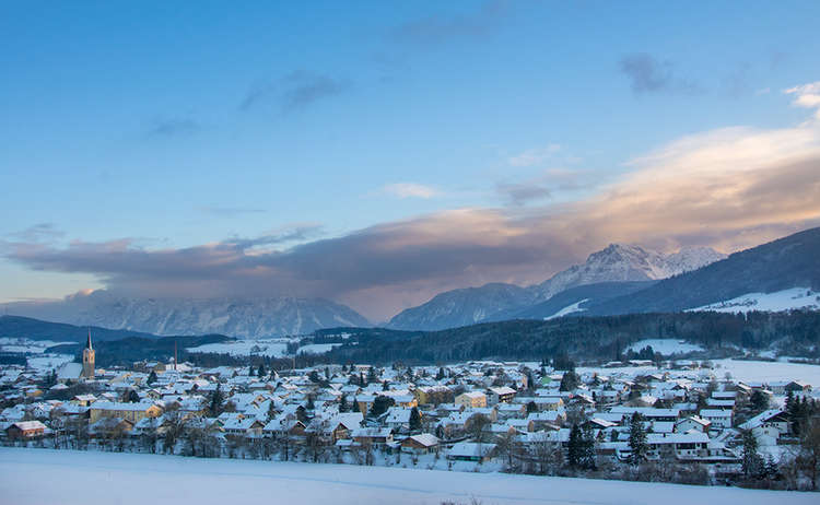 Winter in Teisendorf